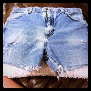 Cutoffs shorts